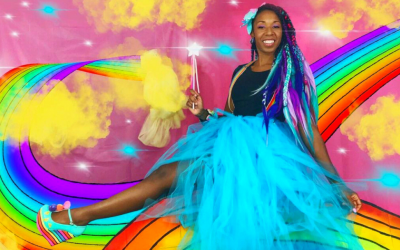 Timmery, Queen of Rainbows & Love – HerStory Matters!